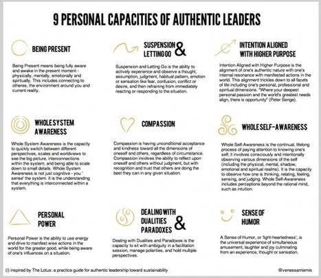 9 Personal Capacities of AuthenticLeaders | Transition Culture | Scoop.it