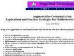 Communication Resources for Rett Syndrome Online Resource Site   Rett Syndrome   Scoop.it