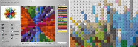 Legoaizer | From picture to LEGO® photo mosaic | Instruction & Technology | Scoop.it