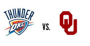 Thunder vs. OU Football Who Wins? | Sooner4OU | Scoop.it
