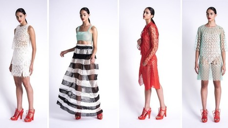 3D-printed clothing collection took student 2,000 hours to produce | Digital Design and Manufacturing | Scoop.it
