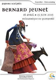Une Bretagne de papier : papiers sculptés de Bernard Jeunet   Expositions   Scoop.it