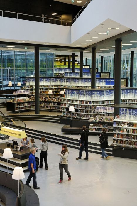 The Library Designed Like a Bookstore | innovative libraries | Scoop.it