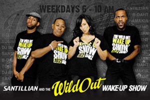 GetAtMe-DjPleasePickUpYourPhone-Santillian and the WildOutWakeUpShow 102Jamz Greensboro NC | GetAtMe | Scoop.it
