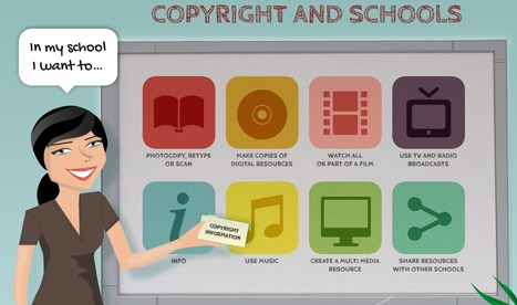 Copyright & Schools: What Can Educators (& Students) Do | Lund's K-12 Technology Integration | Scoop.it