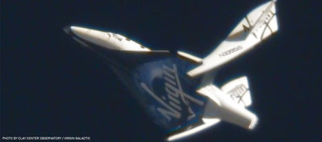 """Virgin Galactic - SpaceShipTwo's First """"Feathered"""" Flight 
