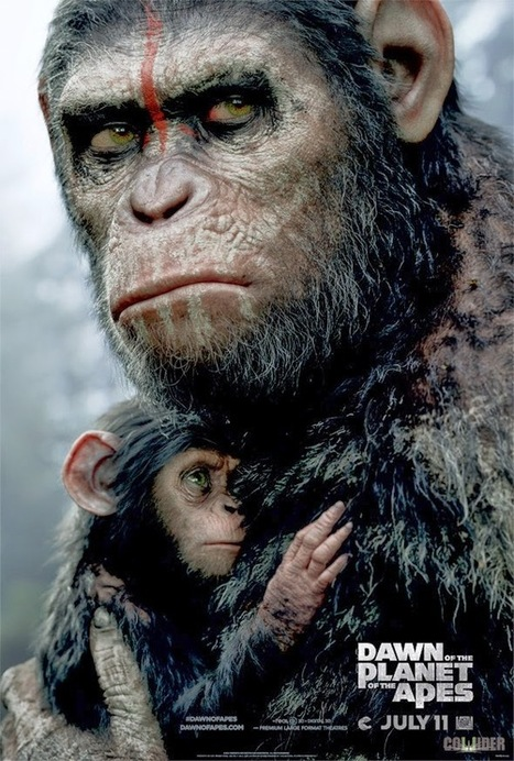 Ultimate 3D Movies: New Poster And TV Spot For Dawn Of The Planet Of The Apes (May 2014) | capedman | Scoop.it