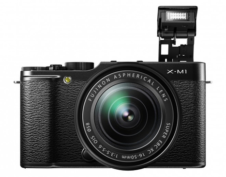 Fujifilm's New X-M1 Camera Feeds Our Retro Obsession | Gadget Lab | Wired.com | technology | Scoop.it