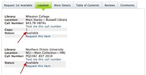 Request a Book Not at Illinois | info resource shar.libr | Scoop.it