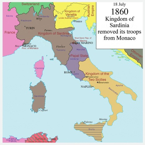 How Italy became a country, in one animated map | TJMS World History | Scoop.it