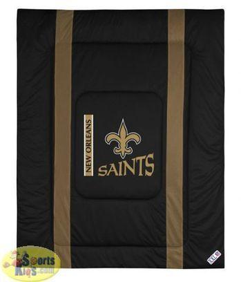 New Orleans Saints NFL Bedding - Sidelines Comforter | NFL Bedding Sets - Sportskids.com | Scoop.it