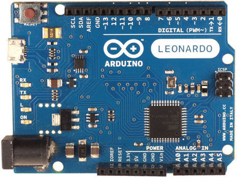 16 Euros Arduino Leonardo Board is Now Available | Embedded Systems News | Scoop.it