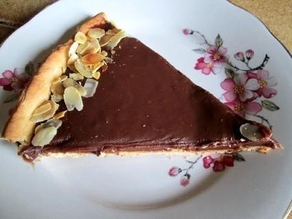 La tarte chocolat praliné : une recette express | Les recettes de Gralon.net | Scoop.it