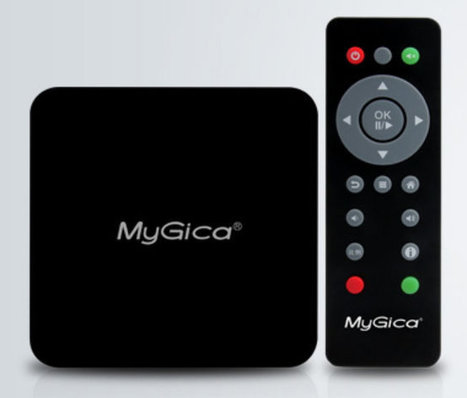 MyGica A11 Android Set-top Box Powered by AMLogic AML8726-M3 Processor | Embedded Systems News | Scoop.it