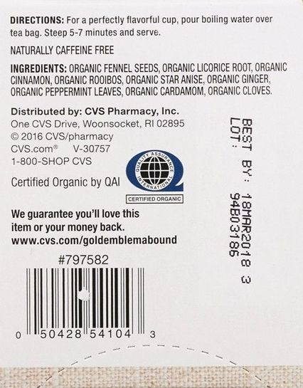 CVS recalls organic herbal tea for salmonella risk - Fox News | Backstabber Watch | Scoop.it