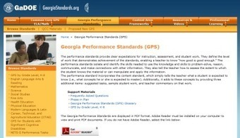 Georgia's Common Core Resources | College and Career-Ready Standards for School Leaders | Scoop.it