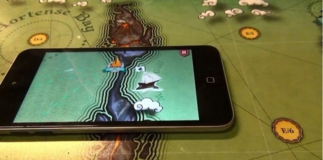 VIDEO. Génial : un jeu de plateau où les pions sont des smartphones | Services&Technologies | Scoop.it