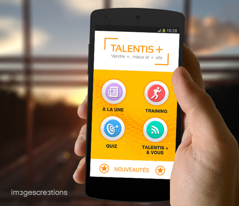 Groupe La Poste : application Talentis+ | Agence web & mobile Nantes - Rennes - Angers | imagescreations | Scoop.it