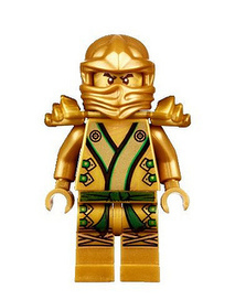LEGO Ninjago Gold Ninja Minifigure Review - The Brick Fan | human | Scoop.it