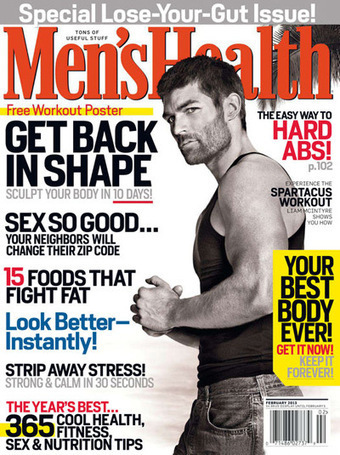 Men's Health USA – January/February 2013-P2P – Releaselog ...   The Bach Rx Card   Scoop.it