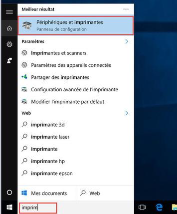 Partager une imprimante connecté à un ordinateur, avec les autres ordinateurs du réseau local sur Windows 10 | 65BITS | TIC et TICE mais... en français | Scoop.it