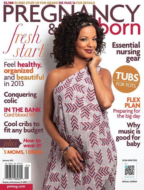 January 2013 Issue of Pregnancy and Newborn | DRIA Nursing Cover Blog | Mom fashion | Scoop.it