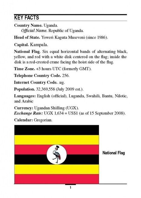 Marine Corps Intelligence Activity Uganda Country Handbook | Public Intelligence | Security News | Scoop.it