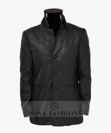 Max Payne Jacket | Black Leather Mark Wahlberg Jacket | Current Fashion Updates - 2015 | Scoop.it