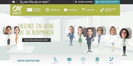 Grâce à Apizee, l'agence en ligne du Crédit Agricole Normandie propose sur le Web des rendez-vous aussi humains qu'en agence | Initiatives de banques | Scoop.it