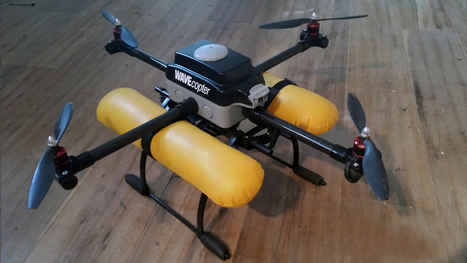 WAVEcopter: A Waterproof Quadcopter | Maker Stuff | Scoop.it