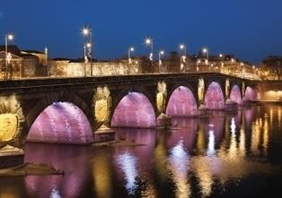 TOULOUSE BY NIGHT, LA VILLE EN LUMIERE | Toulouse La Ville Rose | Scoop.it