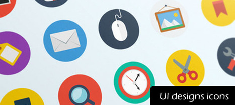 Attractive icons for UI designs | Inspiration mart | Scoop.it