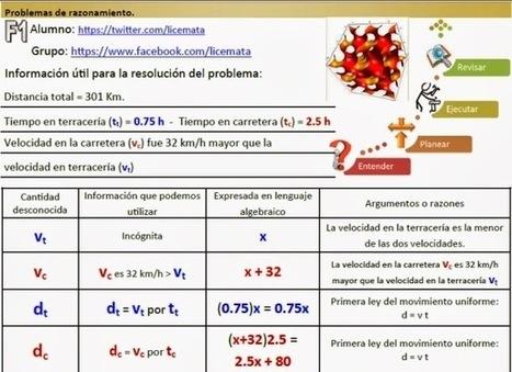 Matemáticas con Tecnología: Learn to solve word problems like an expert (Part 3). | lizeth castillo | Scoop.it