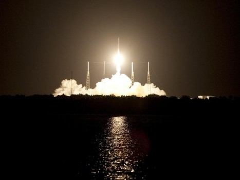 Falcon 9 Experienced Engine Anomaly But Kept Going to Orbit | Space And Beyond 2012 | Scoop.it