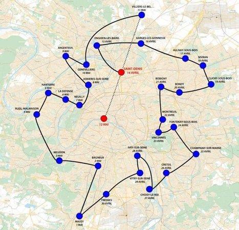 ANCIEN TRAJET PREVU: La marche des banlieues - l'indigné   #marchedesbanlieues -> #occupynnocents   Scoop.it