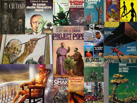 Marcianos Como No Cinema: Clifford D. Simak - Coleção de Capas | Ficção científica literária | Scoop.it
