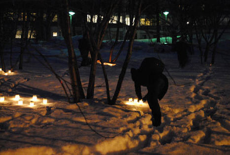 Candles lit under the cherry trees in Finland | Finland | Scoop.it