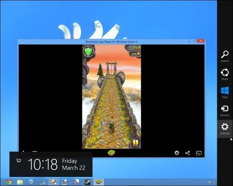 Lancer les jeux et applications Android sous Windows 8 | Time to Learn | Scoop.it