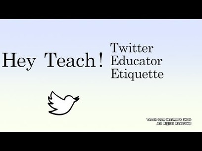 Are educators using Twitter correctly? Check out these tips! | Teaching, Learning, and Leadership - From A to Z | Scoop.it