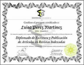 Diplomado de Escritura y Publicación de Artículos en Revistas Indexadas - Instituto Salamanca   Revistas de investigacion   Scoop.it
