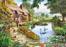 Gibsons Jigsaw Puzzle - Meadow Farm by Steve Crisp   Online News for Games, Puzzles and Toys   Scoop.it