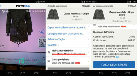 QR Code e PowaTag, l'app per l'instant shopping, sbarca in Italia | QRCODE_ITALY | Scoop.it