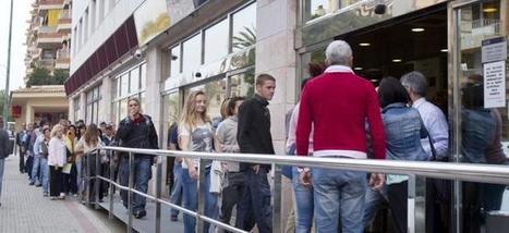 Espagne : Un taux de chômage historique à 24,44% | Le situation économique en Espagne | Scoop.it