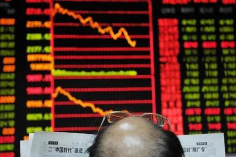 China stocks sink after major banks write off debt - CNBC.com | Business in China | Scoop.it