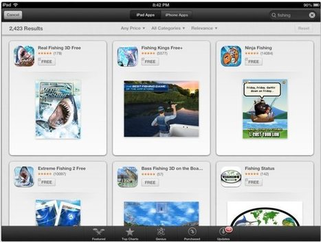 Apple's iOS 6 App Store search takes a bite out of Chomp ... | iPhones and iThings | Scoop.it