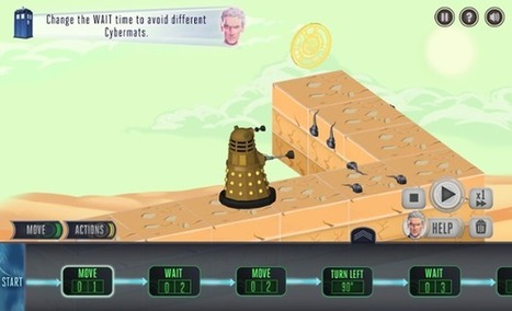 Doctor Who's new web game aims to teach children programming skills   Coding   Scoop.it