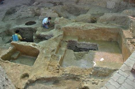 Descubierta una piscina romana del siglo I en pleno centro histórico de Carmona | LVDVS CHIRONIS 3.0 | Scoop.it