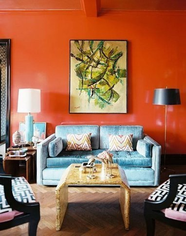 La couleur Orange dans votre deco !! decodesign / Décoration | Tendance Deco Design | Scoop.it