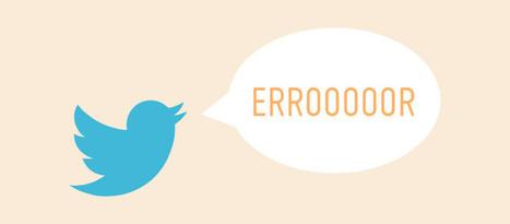 12 Errores que no debes cometer en Twitter - 40deFiebre | Links sobre Marketing, SEO y Social Media | Scoop.it