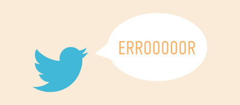 12 Errores que no debes cometer en Twitter - 40deFiebre | Farmacia Social Media | Scoop.it